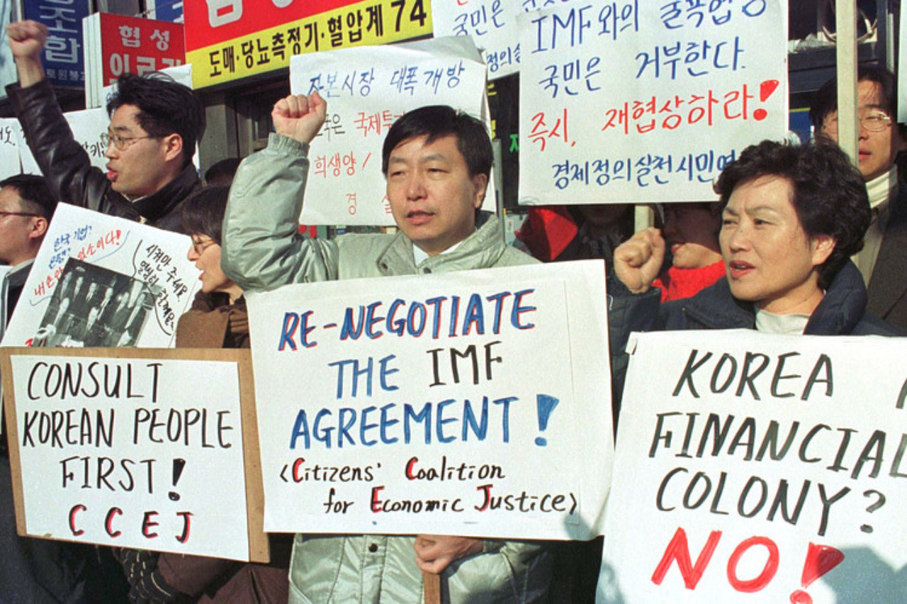 the effects of the imf in relations to south korea and neighboring asian countries Critics of imf argue that the tight macroeconomic policies imposed by the imf on the asian nations are suited to countries that are suffering from: a excessive government spending b high levels of inflation.