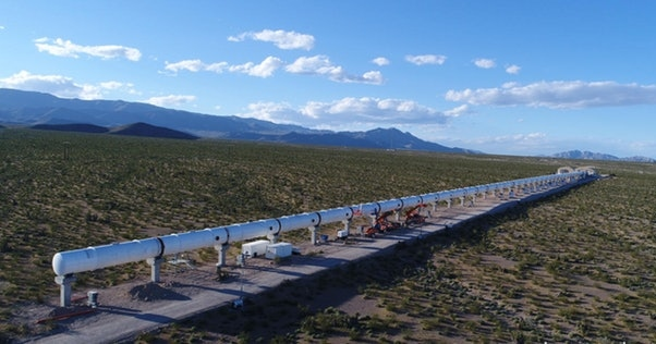 1800 км за 1 час 48 минут: первые 11 маршрутов Hyperloop One в США